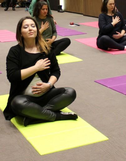 Hamilelik Yogası Doğumda Çok İşinize Yarayacak…